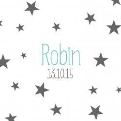 "Faire-part ""Robin"""