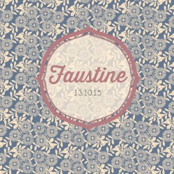 "Faire-part ""Faustine"""