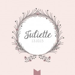 "Faire-part ""Juliette"""