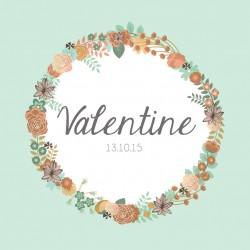 "Faire-part ""Valentine"""
