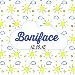 "Faire-part ""Boniface"""
