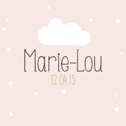 """Faire-part """"Marie-Lou"""""""