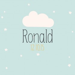 "Faire-part ""Ronald"""