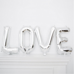 "Ballon kit Message ""LOVE"""