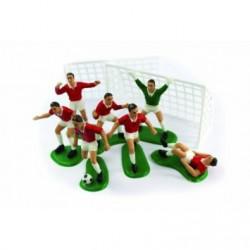Decoration gâteau- équipe de foot