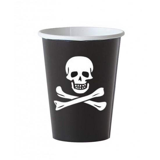 6 gobelets - Pirates