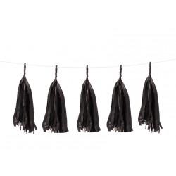 Guirlande tassel noir