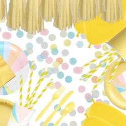 kit pastel - jaune