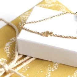 Coffret  cadeau naissance Sweetcase-Titlee Jaune Nuage