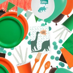 kit anniversaire - dinosaure