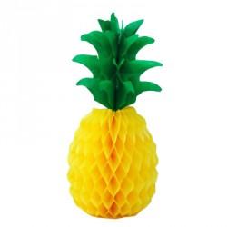 Centre de table alvéolée en forme d'ananas
