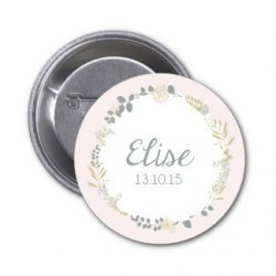 "Badge à personnaliser ""Elise"""