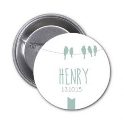 "Badge à personnaliser ""Henry"""