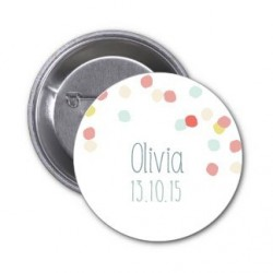 "Badge à personnaliser ""Olivia"""