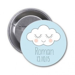 "Badge à personnaliser ""Roman"""