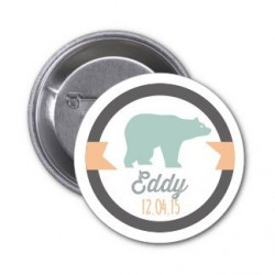 "Badge à personnaliser ""Eddy"""