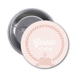 """Badge à personnaliser """"Gisèle"""""""