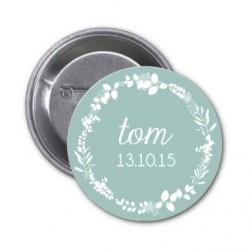 "Badge à personnaliser ""Tom"""