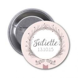 """Badge à personnaliser """"Juliette"""""""