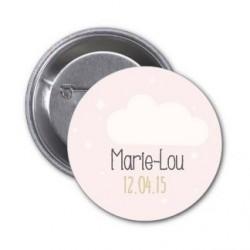 "Badge à personnaliser ""Marie-Lou"""