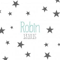 """Faire-part """"Robin"""" PDF"""