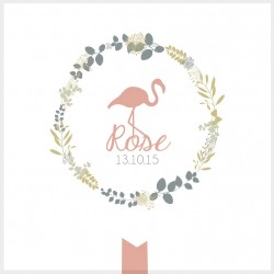 "Faire-part ""Rose"""