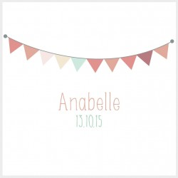 "Faire-part ""Anabelle"""
