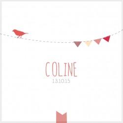 """Faire-part """"Coline"""""""