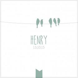"""Faire-part """"Henry"""""""