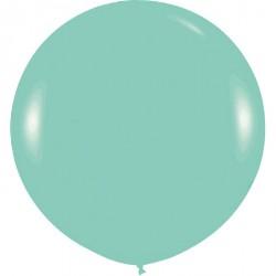 Ballon géant - menthe satin