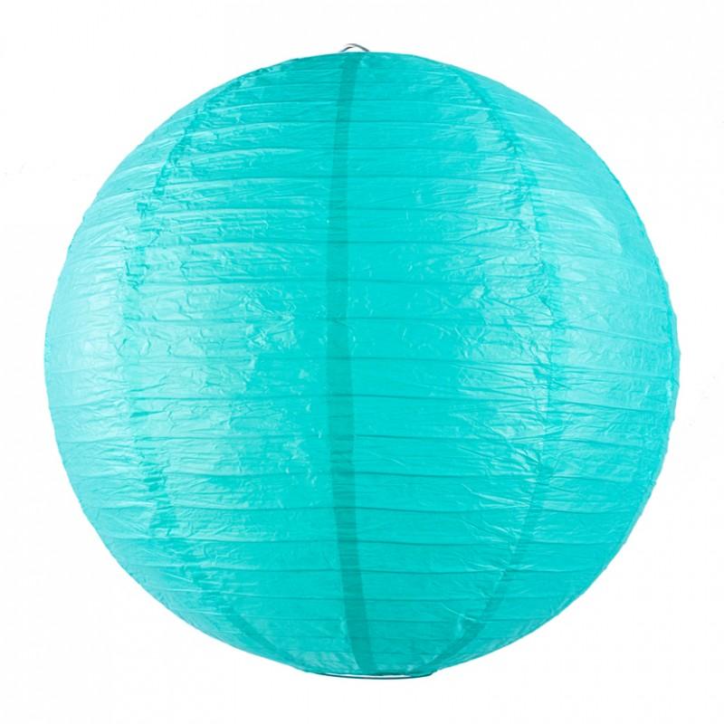 un lanterne chinoise vert acqua turquoise pour d corer une fete un anniversaire. Black Bedroom Furniture Sets. Home Design Ideas