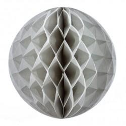 Boule alvéolée gris