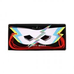 8 masques super-héros Zap! Meri Meri