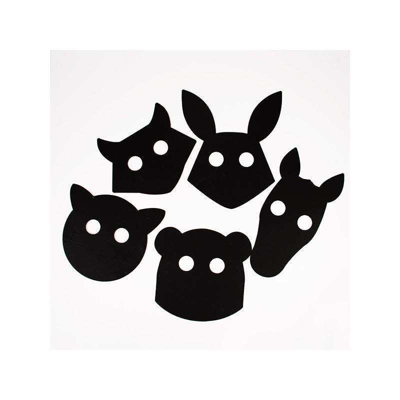 Masques animaux dessiner - Masque a dessiner ...