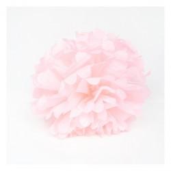 Pompom rose clair