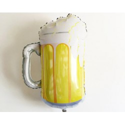 Ballon aluminium mylar bière