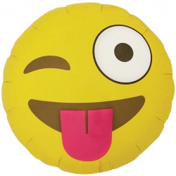 "Emoji ""Smiley qui fait in clin d oeil"""