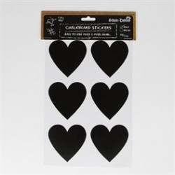12 Stickers- coeur