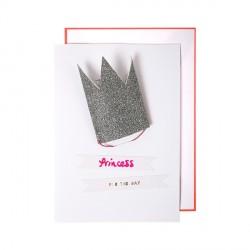 Carte couronne de princesse-Meri Meri