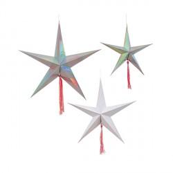 Decorations star-étoile meri meri