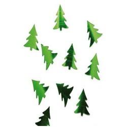 Confettis métal - Sapin vert