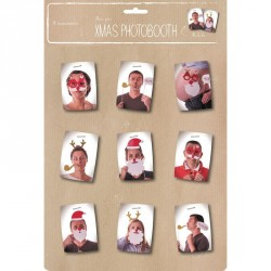 Photobooth X-mas-8 pieces