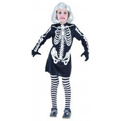 costume squelette fille