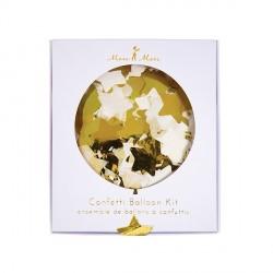 Kit ballons - Confettis étoile mylar
