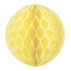 Boule alvéolée jaune  pâle