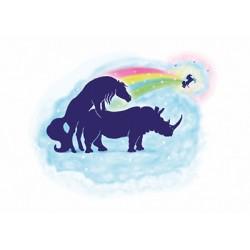 Carte - Licorne  Rhino