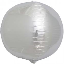 Ballon mylar Sphere 3D Argent