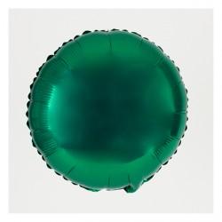 Ballon mylar rond vert