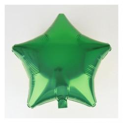 Ballon mylar étoile vert