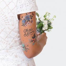 1 planche de tattoo: Lovely set